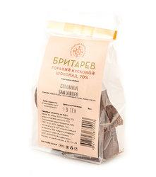 Ремесленный кусковой шоколад, горький 70%. Бритарев, пакет 100 г